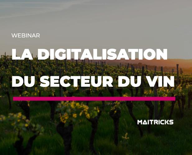 La digitalisation du secteur du vin